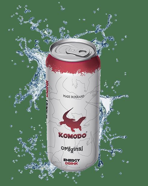 Komodo energy drink oryginal